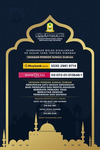 Yayasan Pondok Sungai Durian - Acc1